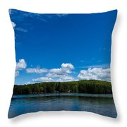 Lovell Lake Afternoon Throw Pillow