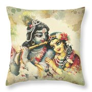 Lovely Couple 2 Throw Pillow