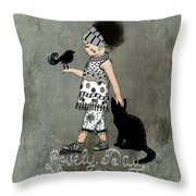Lovely Day In My Kingdom Throw Pillow