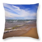 Lovely Day Throw Pillow