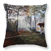 Lovely Home Throw Pillow