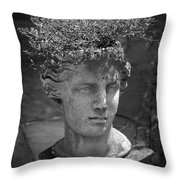 Lovely Lady Bw Throw Pillow