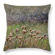 Lovely Layers Of Grass Throw Pillow