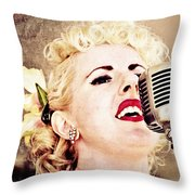 Lovely Leah Throw Pillow