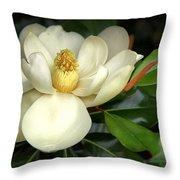 Lovely Magnolia Throw Pillow