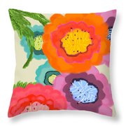 Lovely Square Throw Pillow