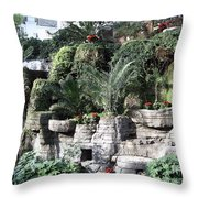 Lovely View Inside The Opryland Hotel In Nashville Tennessee 2009 Throw Pillow