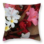 Lovers In Paradise Throw Pillow