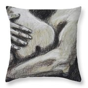 Lovers - Never Let Me Go Throw Pillow