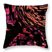 Lovers Swirling Throw Pillow