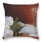 Loves Bouquet Throw Pillow