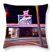 Love's Drugs Throw Pillow