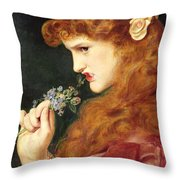 Loves Shadow, 1867 Throw Pillow