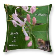 Loveth At All Times Throw Pillow