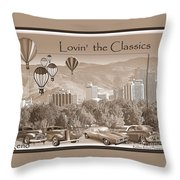 Lovin The Classics II Throw Pillow