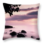Lovina Sunset - Bali Throw Pillow