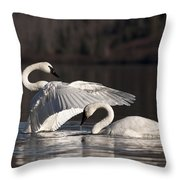 Loving Embrace Throw Pillow