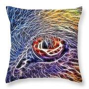 Loving Eye - 1 Throw Pillow