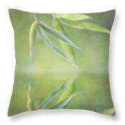 Loving Greens I Throw Pillow