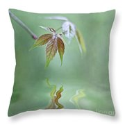 Loving Greens II Throw Pillow
