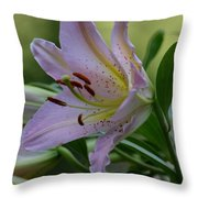 Loving Lilies Throw Pillow