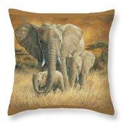 Loving Mother Throw Pillow