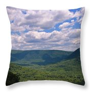 Loving The Laurel Highlands Throw Pillow
