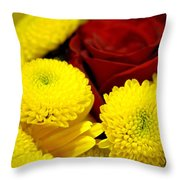 Loving Yellow Throw Pillow
