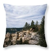 Low Angle View Of A Building, Grand Throw Pillow