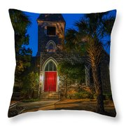 Lowcountry Church Throw Pillow