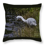 Lowcountry Fishing Throw Pillow