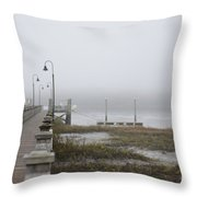 Lowcountry Waters Throw Pillow