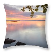 Lowell Sunrise Throw Pillow
