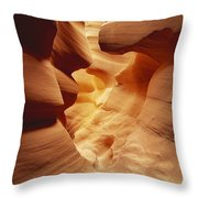 Lower Antelope Canyon, Arizona Throw Pillow