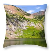 Lower Crater Lake Throw Pillow