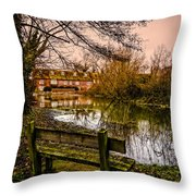 Lower Denford Hungerford Throw Pillow