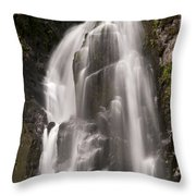 Lower Falls Two Throw Pillow