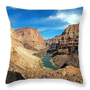 Lower Grand Canyon Throw Pillow