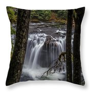 Lower Lewis Falls 3 Throw Pillow