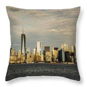 Lower Manhattan 1 Throw Pillow