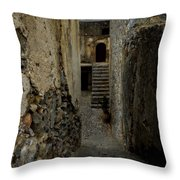 Lower Preveli Monastery Crete 2 Throw Pillow