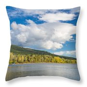 Lower Saint Mary Lake 1 Throw Pillow