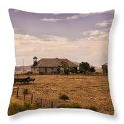 Lower Shell School House Throw Pillow