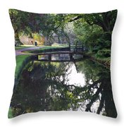 Lower Slaughter 2 Throw Pillow