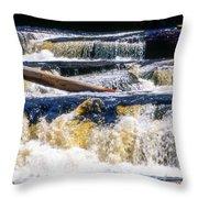 Lower Tequamenon Falls Throw Pillow