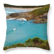 Lowlands Beach 2am-112540 Throw Pillow