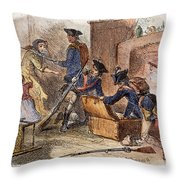 Loyalist Home, 18th C Throw Pillow