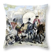 Loyalists & British, 1778 Throw Pillow