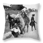 Loyalists To Canada Throw Pillow