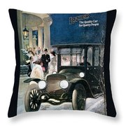 Lozier Cars - Vintage Advertisement Throw Pillow